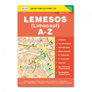 Street Atlas of Limassol In English