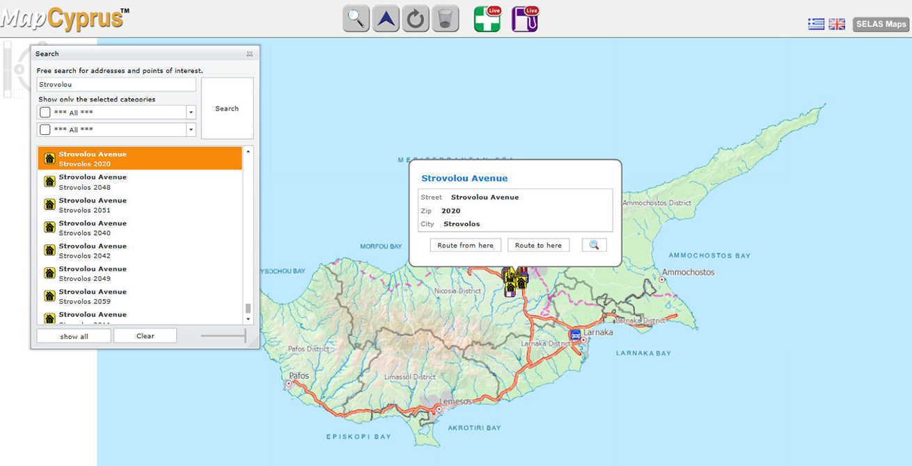 Webmapping - Selas Mapping Services